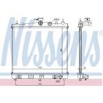Радиатор охлаждения автомат Nissan Micra k12 (Ниссан Микра K12)