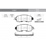 Колодки тормозные передние (Goodwill) Nissan Teana L33 '2014- (Ниссан Теана L33-J33)
