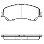 Колодки тормозные передние (оригинал) Nissan Teana L33 '2014- (Ниссан Теана L33-J33)