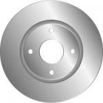 Диск тормозной передний 1шт. (оригинал) Nissan Tiida C11 '07- (Ниссан Тиида C11)
