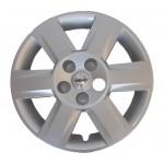 Колпак оригинальный серебро R16 Nissan Qashqai J10 (цена за 1 шт.) (Ниссан Кашкай J10 (2007-2013)