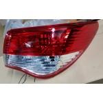 Фонарь внешний правый (корпус) Nissan Almera '2013- (Ниссан Альмера G15 Новая)