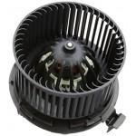 Мотор вентилятора отопителя салона в сборе (VALEO) Nissan Note / Mikra K12 / Almera G15 без конд. (Ниссан Микра K12)