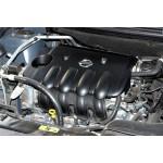 Накладка декоративная на двигатель Nissan Note E11 / Nissan Mikra K12E 16V HR16DE (крышка моторного отсека) (Ниссан Ноут E11)