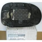 Зеркальный элемент с подогревом левый Nissan Almera Classic B10 '06-12 (Ниссан Альмера Классик B10)