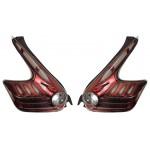 Фонари задние диодные комплект красные дымчатые ТЮНИНГ Nissan Juke F15 (Ниссан Жук F15 (2011-)