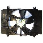Диффузор в сборе (кожух вентилятора) Nissan Tiida C11 / Juke F15 / Sentra B17 (Ниссан Тиида C11)