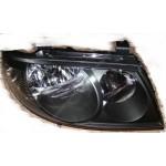 Фара передняя правая черная под корректор Nissan Almera Classic B10 (Ниссан Альмера Классик B10)