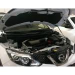 Амортизаторы капоты Nissan Qashqai J11 '2014- (Ниссан Кашкай J11)