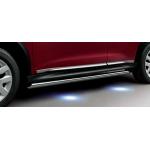 Дуги боковые с подсветкой (пороги) Nissan Juke F15 '2010 (Ниссан Жук F15 (2011-)