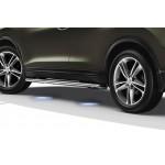 Боковые дуги с подсветкой Nissan X-Trail T32 '2015- (Ниссан Икс-Трейл T32)