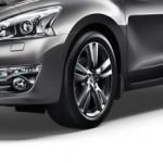 Брызговики передние черные (2шт) (оригинал) Nissan Teana J33 '2014- (Ниссан Теана L33-J33)