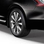 Брызговики задние черные (2шт) (оригинал) Nissan Teana J33 '2014- (Ниссан Теана L33-J33)