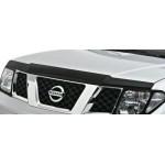 Дефлектор капота (мухоотбойник) темный EGR Nissan Pathfinder/Navara 2010- (Ниссан Патфайндер R51)