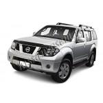 Дефлектор капота (мухоотбойник) темный EGR Nissan Pathfinder 2005- (Ниссан Патфайндер R51)