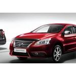 Дефлекторы боковых окон (оригинал) Nissan Sentra '2014- (Ниссан Сентра B17)