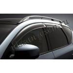 Дефлекторы боковых окон (ветровики) темные 4 шт Nissan Murano 2009- (Ниссан Мурано Z51)