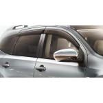 Дефлекторы боковых окон (ветровики) темные 4 шт Nissan Murano Z51 '2011-2015 (Ниссан Мурано Z51)