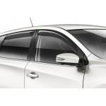 Дефлекторы окон Nissan Tiida C13 2014- (4шт) (Ниссан Тиида C13)