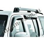 Дефлекторы боковых окон 4 шт. темные (ветровики) EGR Nissan Pathfinder 2005- (Ниссан Патфайндер R51)