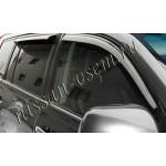 Дефлекторы боковых окон (ветровики 4шт.) темные Nissan Juke F15 '2010- (Ниссан Жук F15 (2011-)