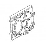 Диффузор вентилятора (кожух без лопастей) Nissan Juke F15 (MR16DDT) (Ниссан Жук F15 (2011-)