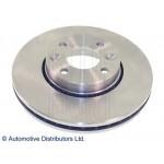 Диск тормозной передний (1шт) Nissan Micra (K12E, CK12E) 02- / Note (E11E) 06- (Ниссан Ноут E11)