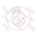 Диск тормозной передний (TRW) Nissan Tiida C11 '07- (Ниссан Тиида C11)