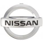 Эмблема (логотип) решетки радиатора Nissan Tiida (Ниссан Тиида C13)