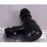 Клапан обратки омывателя фар (R=L) Nissan X-Trail T31 '07- (Ниссан Икс-Трейл T31)