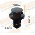Клипса пистон крепления подкрылка / решетки / бампера / пыльника (универсальная) Nissan (упаковка 10 шт) (Ниссан Патфайндер R52)