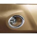 Кольца для противотуманных фар хромированные Nissan Note E11 '06- (Ниссан Ноут E11)