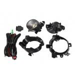 Комплект для установки противотуманных фар (ПТФ) c проводкой и кнопкой Nissan Qashqai J10 '07-10 (Ниссан Кашкай J10 (2007-2013)