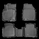 Коврики салонные полиуретановые (4шт.) Nissan Juke (2WD) '2011- (Ниссан Жук F15 (2011-)