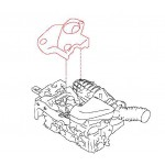 Крышка моторного отсека (декоративная) Nissan X-Trail T31 QR25DE (Ниссан Икс-Трейл T31)