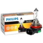 Лампа фары H8 12V-35W (PGJ19) (PHILIPS) (Ниссан Альмера Классик B10)