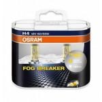 Лампа головного света H4 12V- 60/55W (P43t) FOG BREAKER +60% (комплект 2шт.) (Ниссан Тиида C11)
