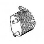 Масляный радиатор Nissan Pathfinder R51 '2010-2012 (Ниссан Патфайндер R51)