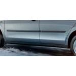 Молдинги дверей черные комплект Nissan Almera '2013- (Ниссан Альмера G15 Новая)