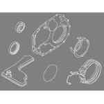 Набор сальников АКПП Nissan Almera G15 (Ниссан Альмера G15 Новая)