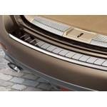 Накладка защитная на задний бампер Nissan Murano Z51 (хром) (Ниссан Мурано Z51)