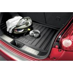 Защитная накладка на порог багажника (2шт.) Nissan Juke F15 (Ниссан Жук F15 (2011-)