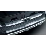 Накладка на порог пятой двери (нержавеющая сталь) Nissan X-Trail T31 '07- (Ниссан Икс-Трейл T31)