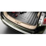 Защитная накладка на задний бампер (алюминий) Nissan X-Trail T32 '2015- (Ниссан Икс-Трейл T32)