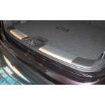Накладка на порог багажника (внутренняя алюминиевая) Nissan Qashqai J11 '2014- (Ниссан Кашкай J11)