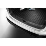 Защитная накладка на задний бампер (хром) Nissan Qashqai J11 '2014- (Ниссан Кашкай J11)