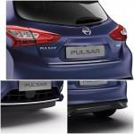 Комплект декоративных накладок (Premium) Nissan Tiida C13 (Ниссан Тиида C13)