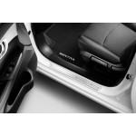 Накладки на пороги дверей (алюминий) 4шт. Nissan Sentra '2014- (Ниссан Сентра B17)