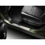 Накладки на пороги дверей 4 шт. (перед. с подсветкой) Nissan X-Trail T32 '2015- (Ниссан Икс-Трейл T32)