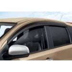 Накладки на зеркала хромированные Nissan Note E11 '06- (Ниссан Ноут E11)